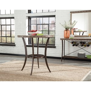 Hillsdale Emmons Bar Height Bistro Table