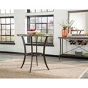 Hillsdale Emmons 3-Piece Bar Height Bistro Dining Set with Stud Detailing
