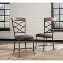 Hillsdale Emmons 5-Piece Rectangle Dining Set with Stud Details