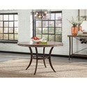 Hillsdale Emmons 5-Piece Round Dining Set with Stud Details