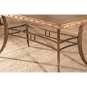 Hillsdale Emmons 7-Piece Rectangle Dining Set with Stud Details