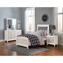 Hillsdale Evelyn Twin Youth Bedroom Group - Item Number: 2023 T Youth Bedroom Group 1