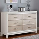 Hillsdale Evelyn 6 Drawer Dresser - Item Number: 2023-717
