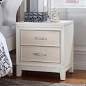 Hillsdale Evelyn Two Drawer Nightstand - Item Number: 2023-771