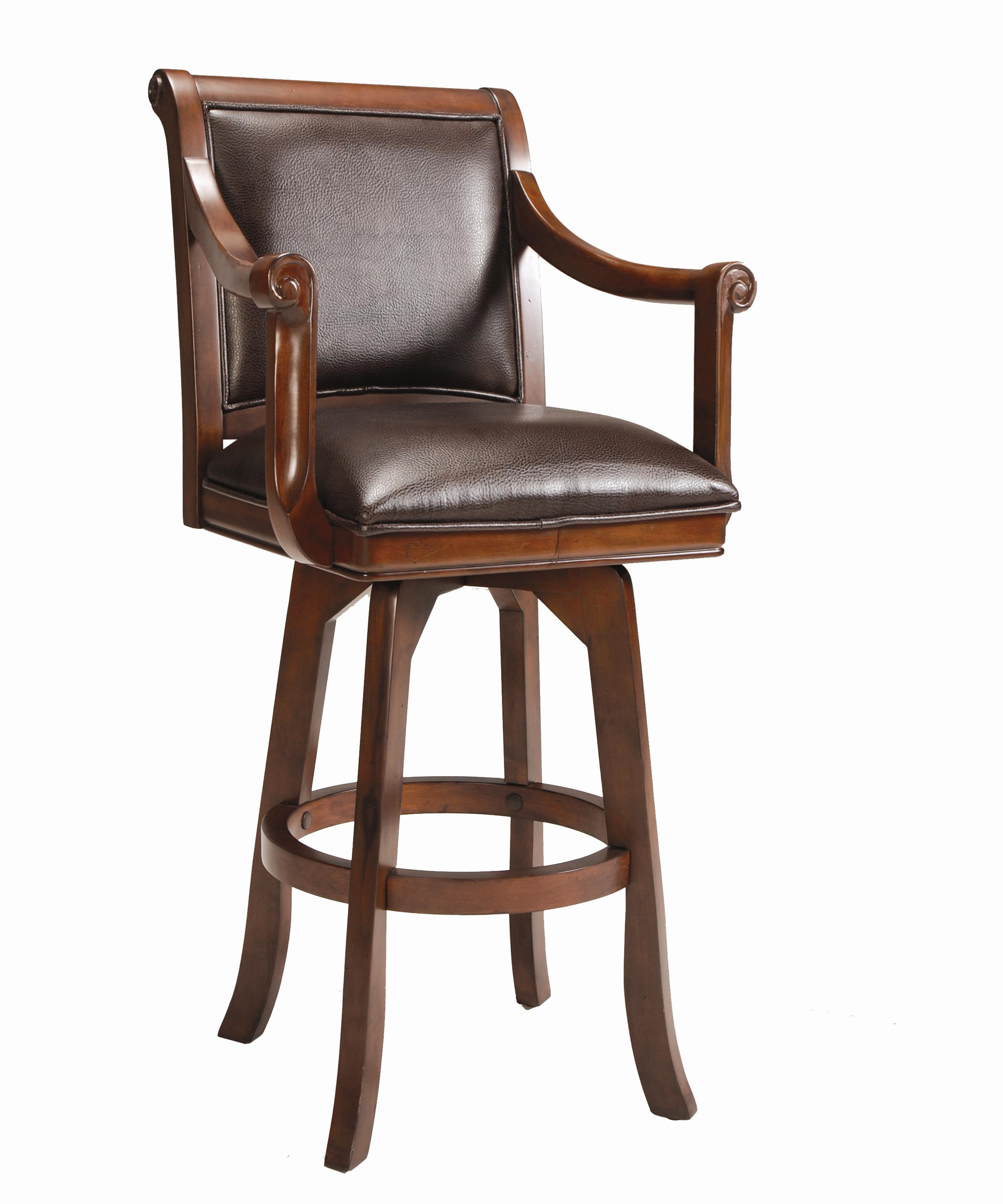 Hillsdale Game Stools & Chairs Palm Springs Swivel Bar Stool - Item Number: 4185-830