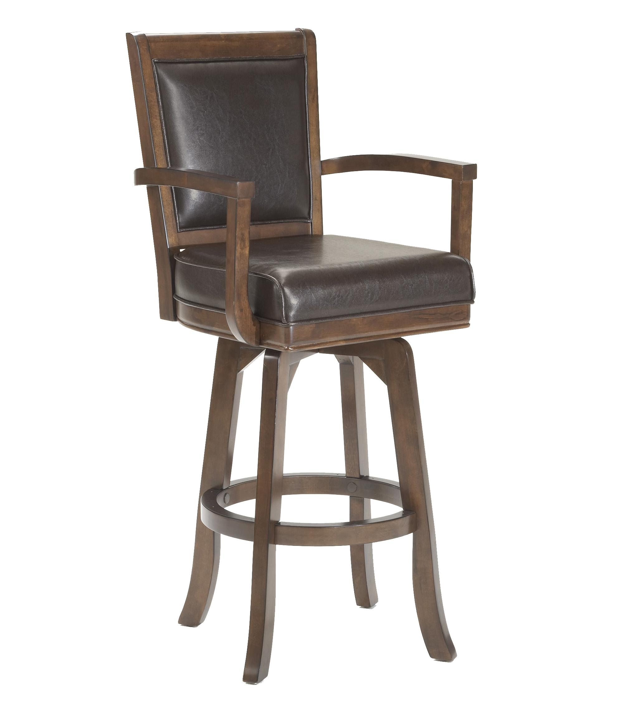 Hillsdale Game Stools & Chairs Ambassador Swivel Bar Stool - Item Number: 6124-830
