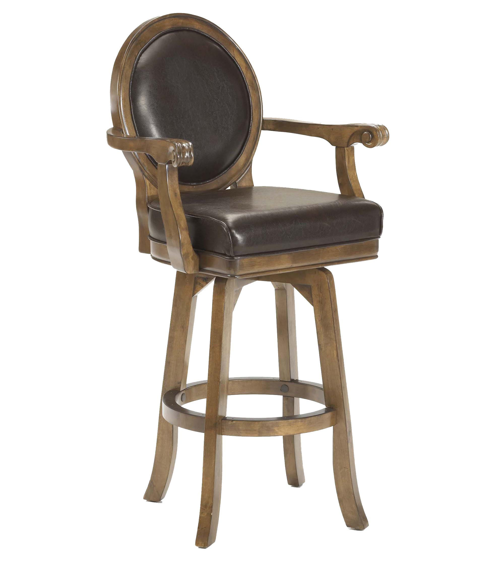 Hillsdale Game Stools & Chairs Warrington Swivel Bar Stool - Item Number: 6125-830