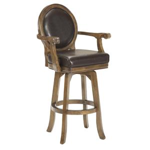 Hillsdale Game Stools & Chairs Warrington Swivel Bar Stool