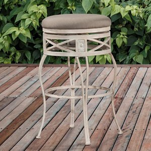 Hillsdale Indoor/Outdoor Stools Swivel Bar Stool