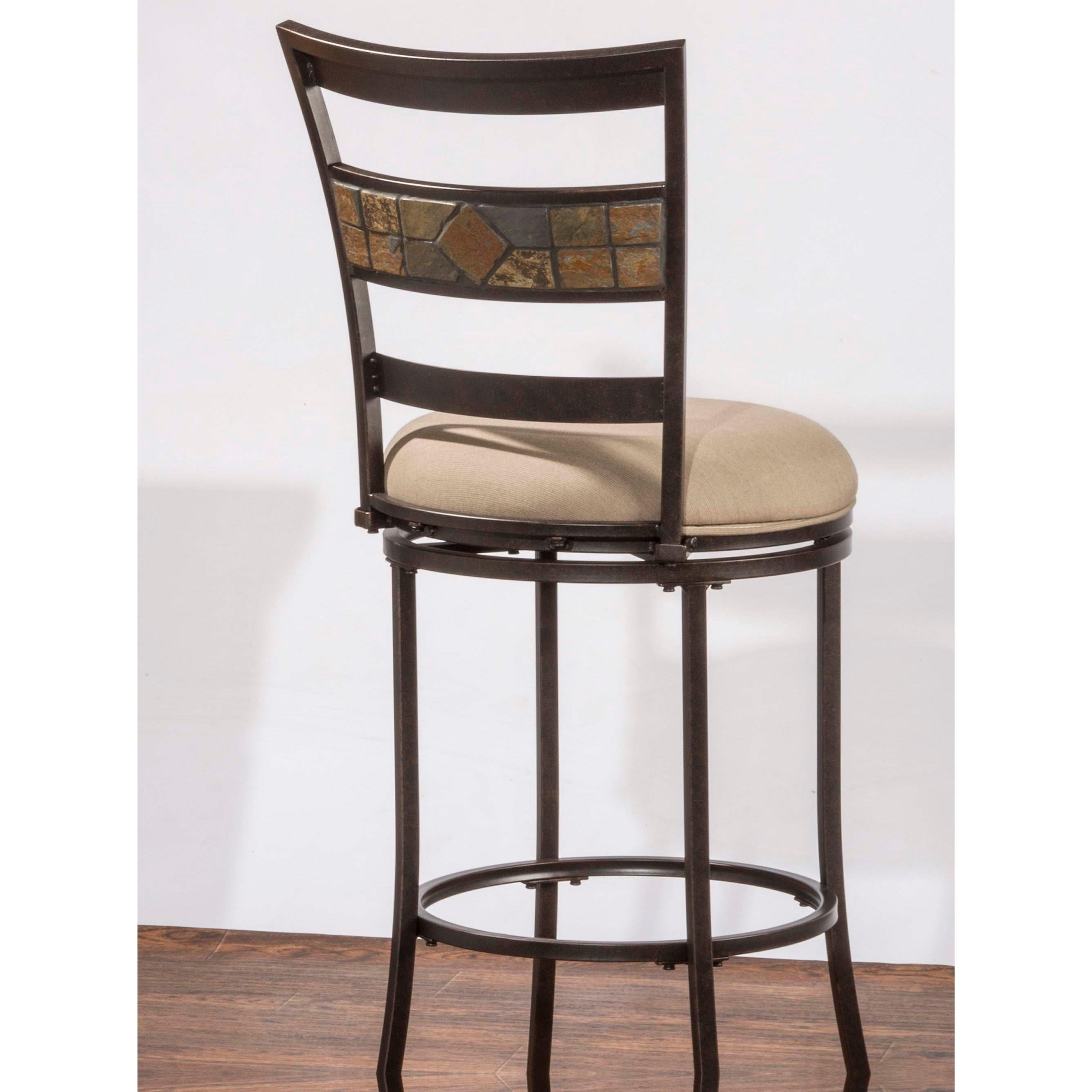 Hillsdale Indoor Outdoor Stools Swivel Counter Stool With