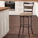Hillsdale Indoor/Outdoor Stools Swivel Counter Stool - Item Number: 6309-826