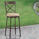 Hillsdale Indoor/Outdoor Stools Swivel Counter Stool - Item Number: 6317-826