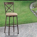 Hillsdale Indoor/Outdoor Stools Swivel Bar Stool - Item Number: 6317-830
