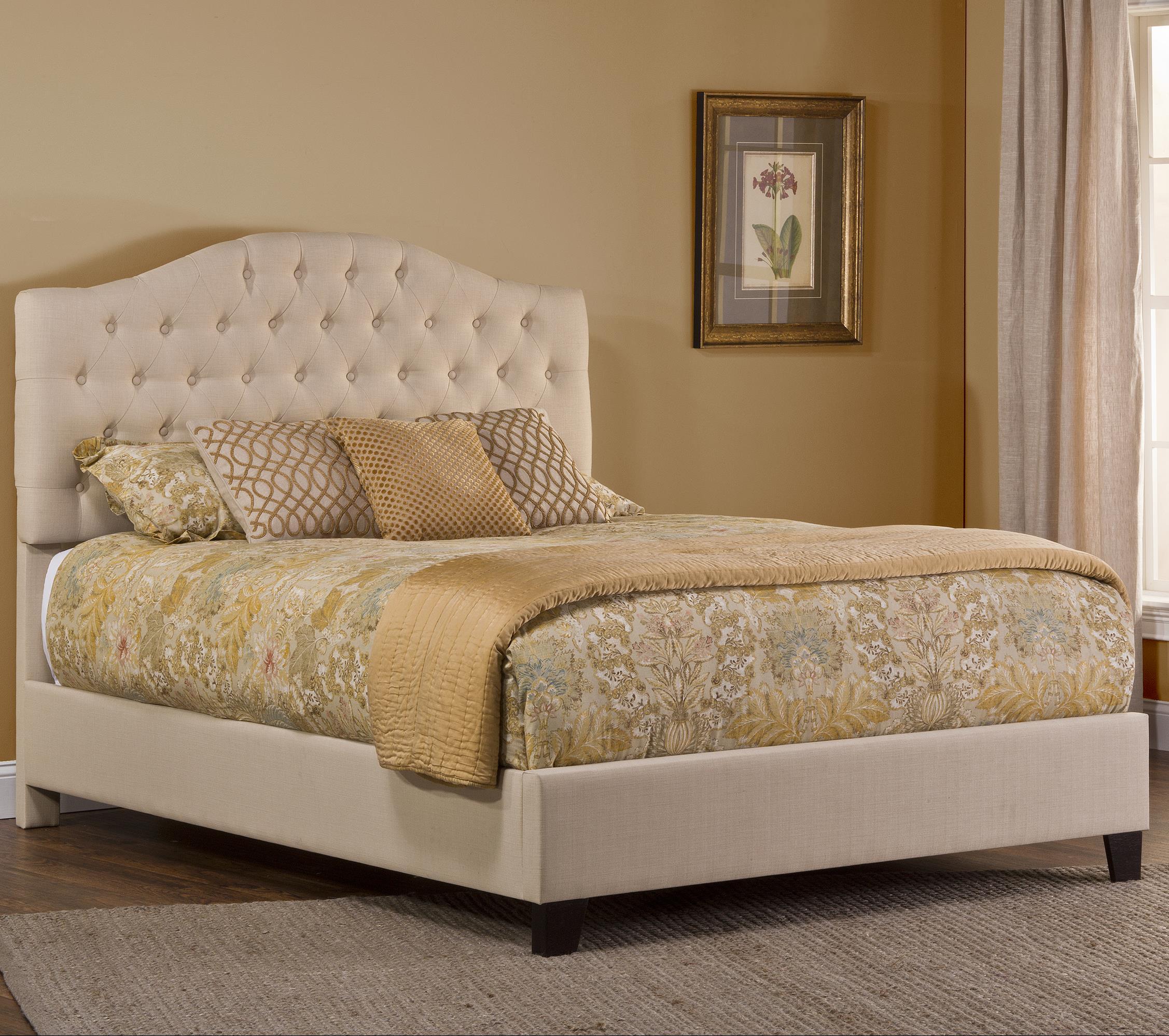 Hillsdale Jamie Upholstered Bed Set - Item Number: 1125BQR
