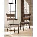 Hillsdale Jennings Dining Side Chair with Ladder Backrest