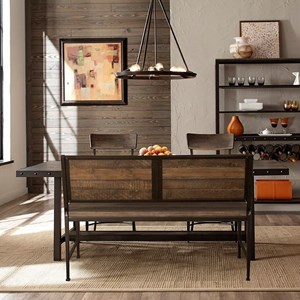 4-Piece Dining Set w/  Bench