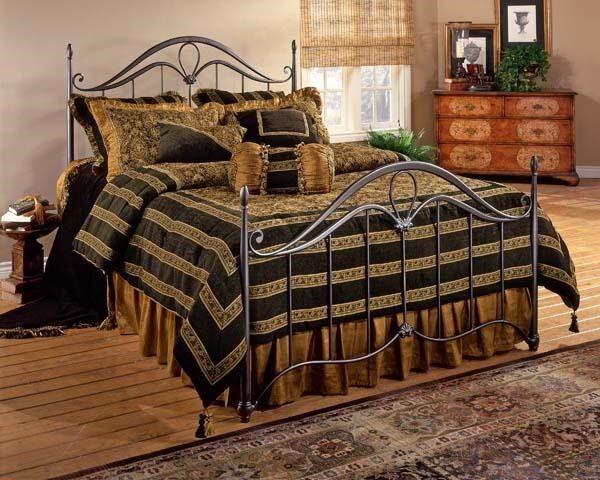 Kendall Queen Bed With Frame by Hillsdale at Johnny Janosik