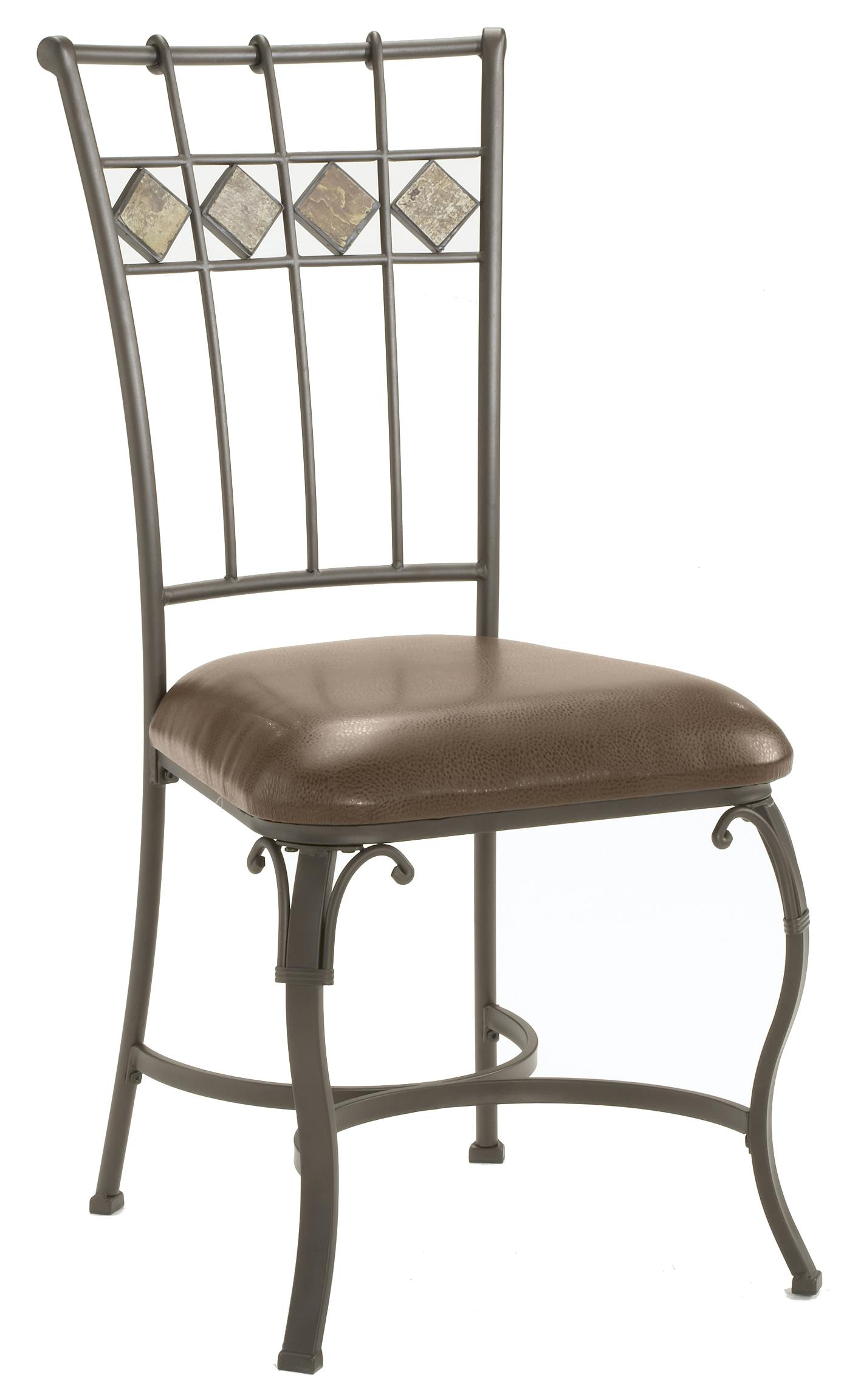 Hillsdale Lakeview Dining Chair with Slate in Back - Item Number: 4264-802