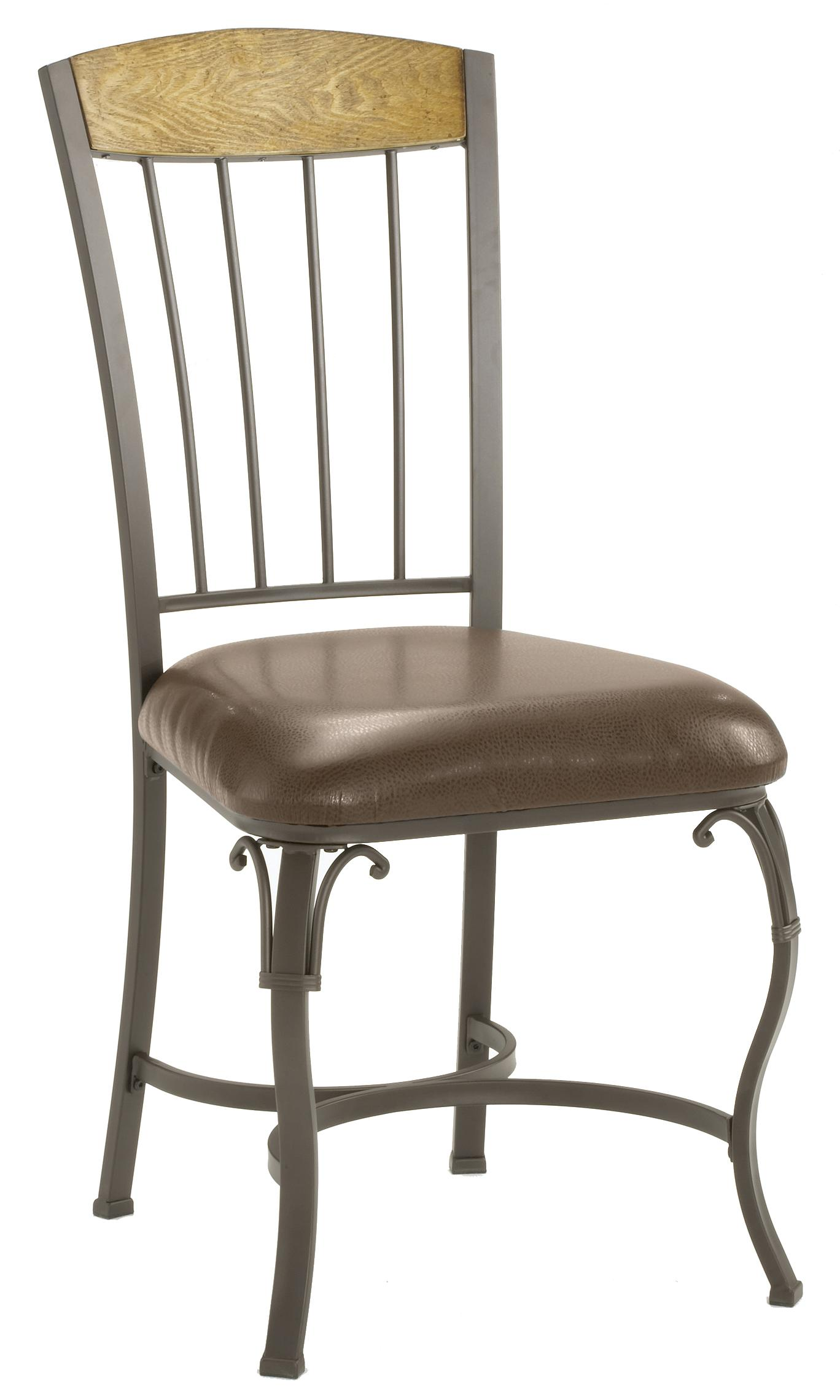 Hillsdale Lakeview Dining Chair with Wood Panel in Top - Item Number: 4264-803