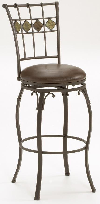 "Hillsdale Lakeview 24"" Slate Back Stool - Item Number: 4264-826"