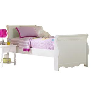 Morris Home Furnishings Lauren  Full Sleigh Bed