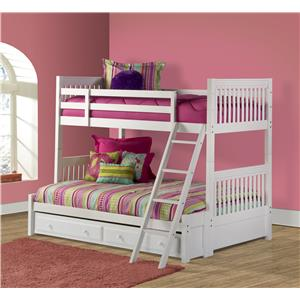 Morris Home Lauren  Twin/Full Bunk Bed