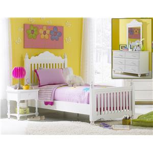 Hillsdale Lauren  4-Piece Twin Bedroom Group