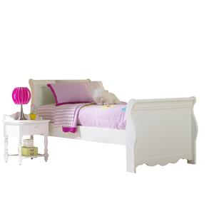 Hillsdale Lauren  Twin Sleigh Bed