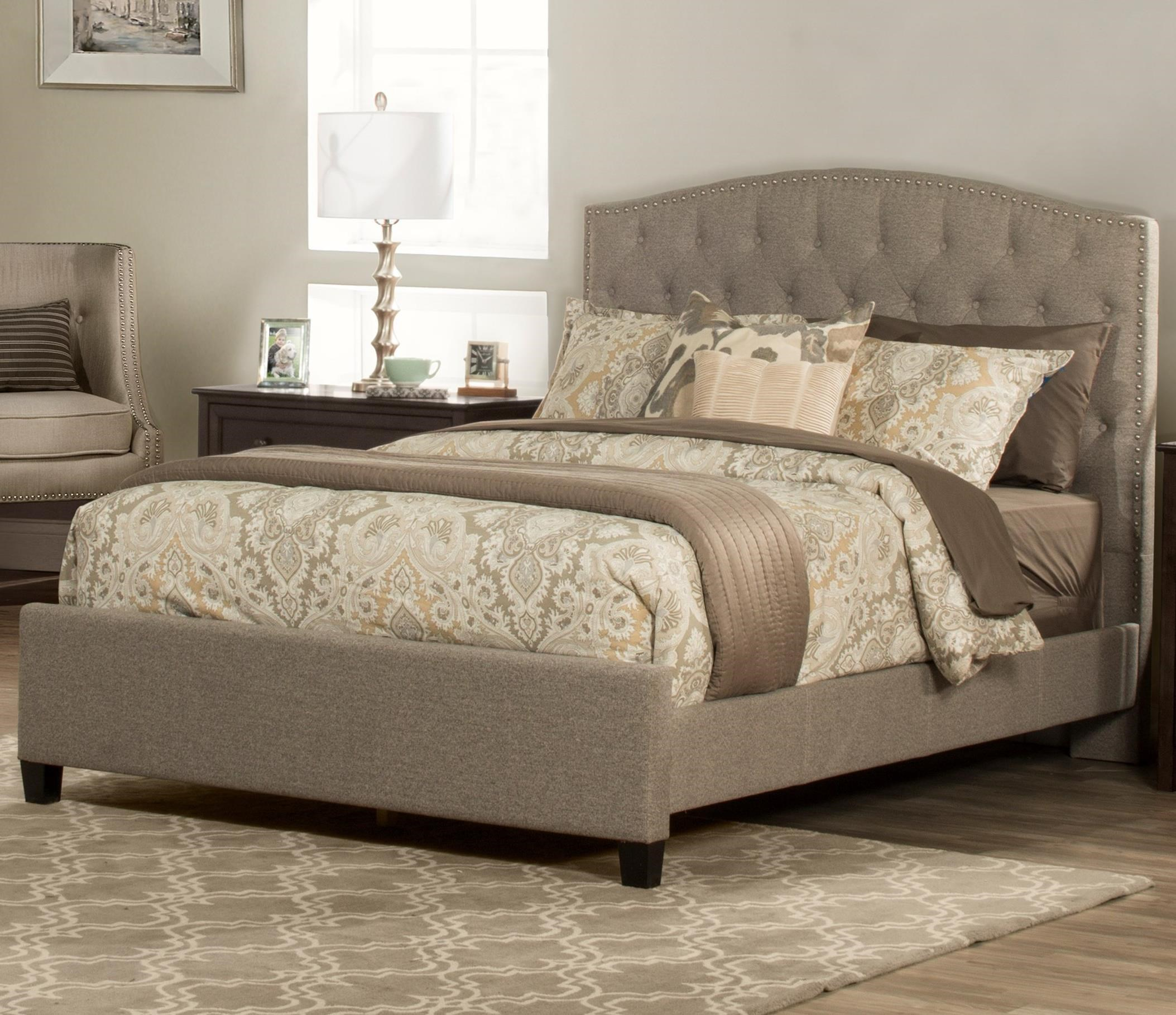 Lila Queen Upholstered Bed by Hillsdale at Johnny Janosik