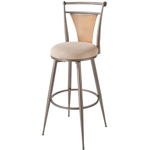 "Hillsdale London 24"" Swivel Stool"