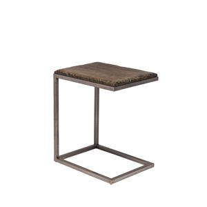 "Hillsdale Lorient ""C"" Shape Accent Table"