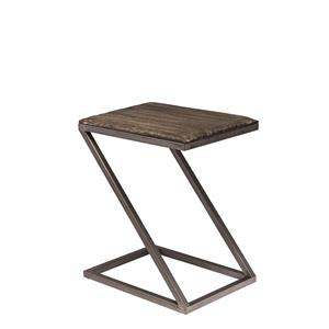 "Hillsdale Lorient ""Z"" Shape Accent Table"