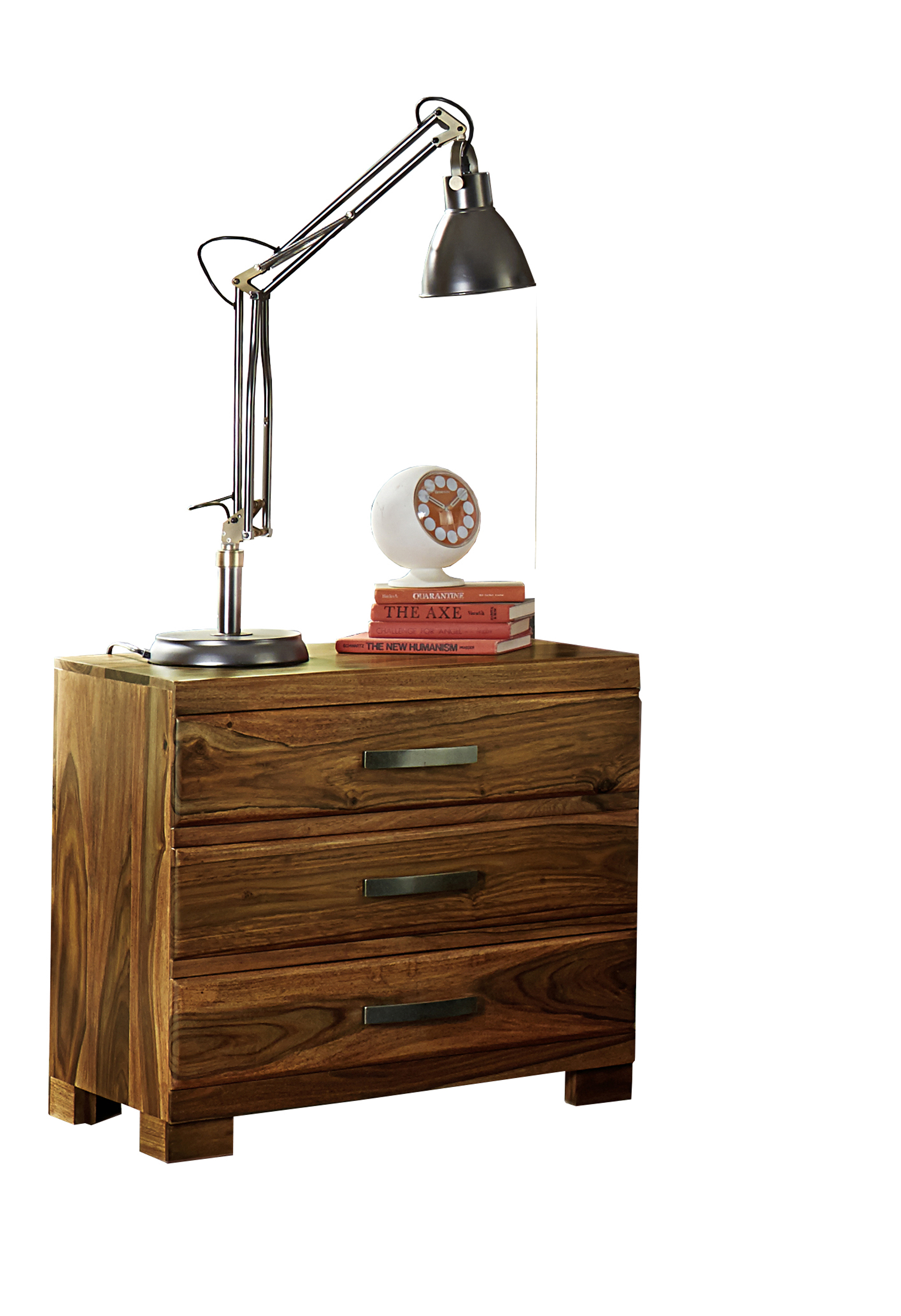 Hillsdale Madera Nightstand With 3 Drawers And Block Feet Wayside Furniture Night Stand