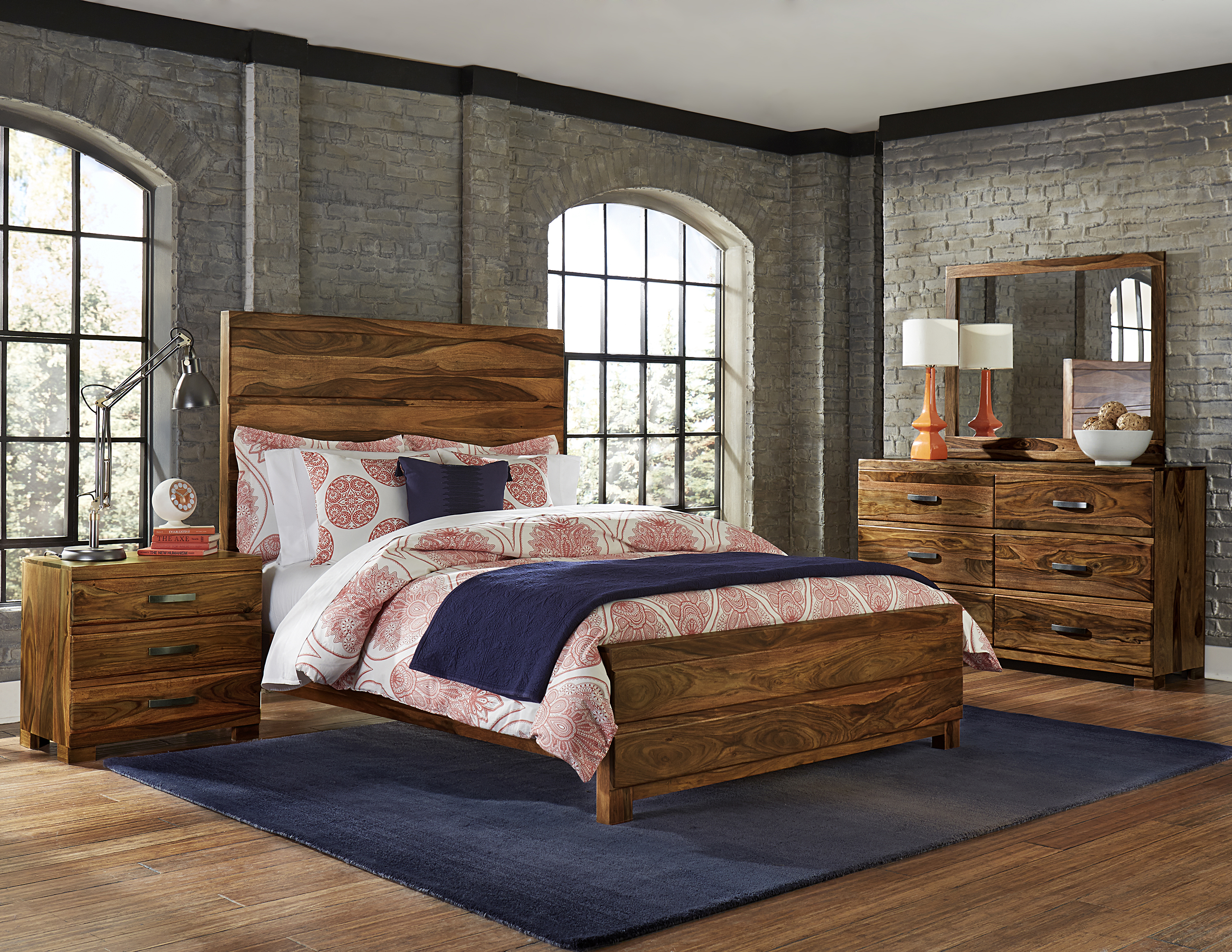 Hillsdale Madera 4-Piece Platform Bedroom Set - Queen - Item Number: 1406BQR4SET