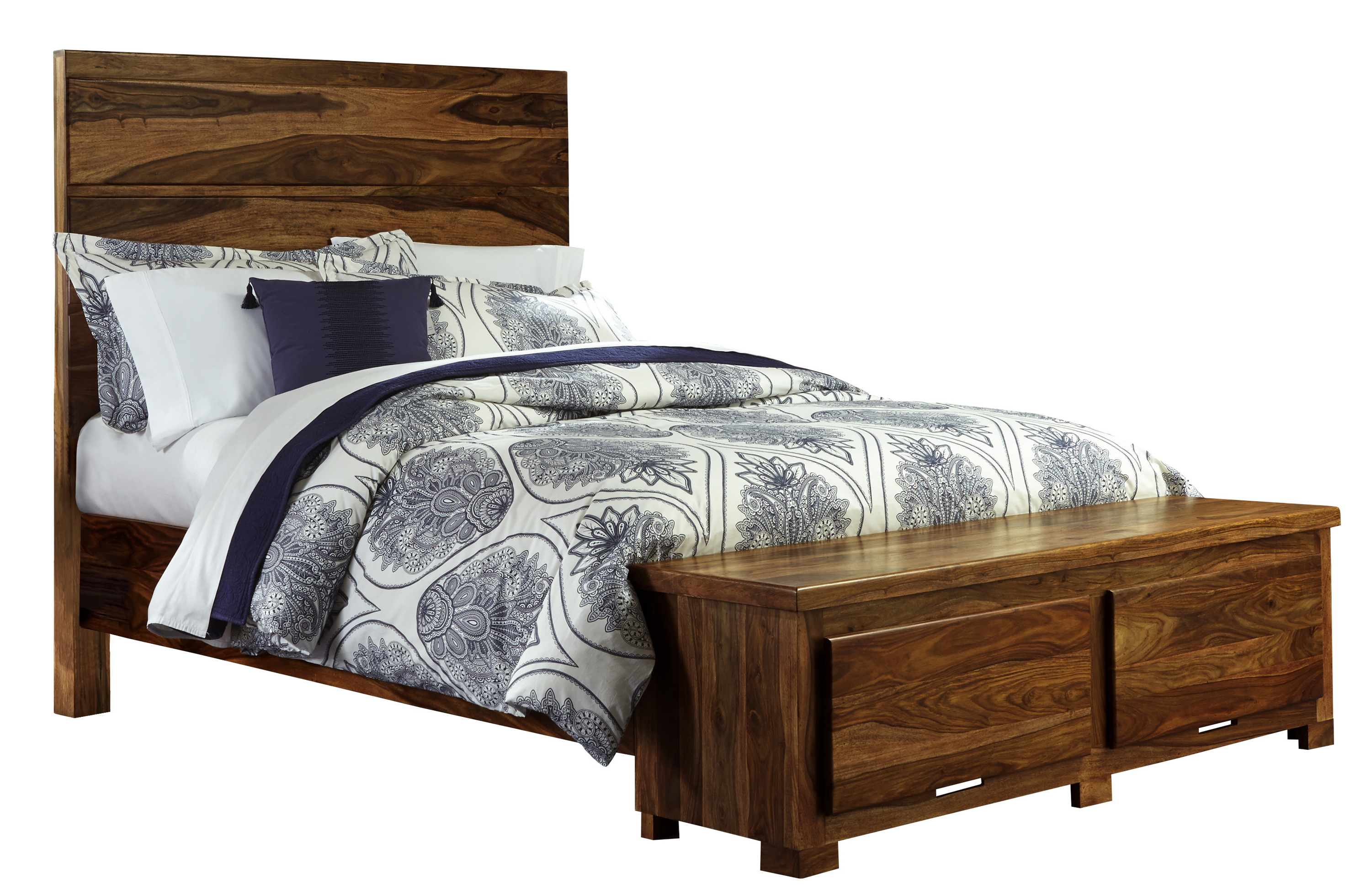 Hillsdale Madera King Storage Bed with 2 Drawers - Item Number: 1406BKRS