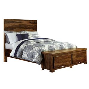 Morris Home Furnishings Madera Queen Storage Bed with 2 Drawers