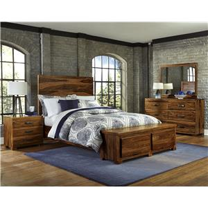 Hillsdale Madera 4-Piece Storage Bedroom Set - Queen