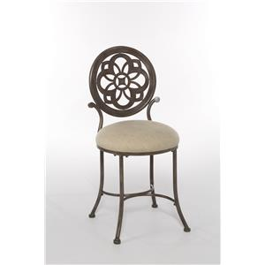 Morris Home Furnishings Marsala Vanity Stool
