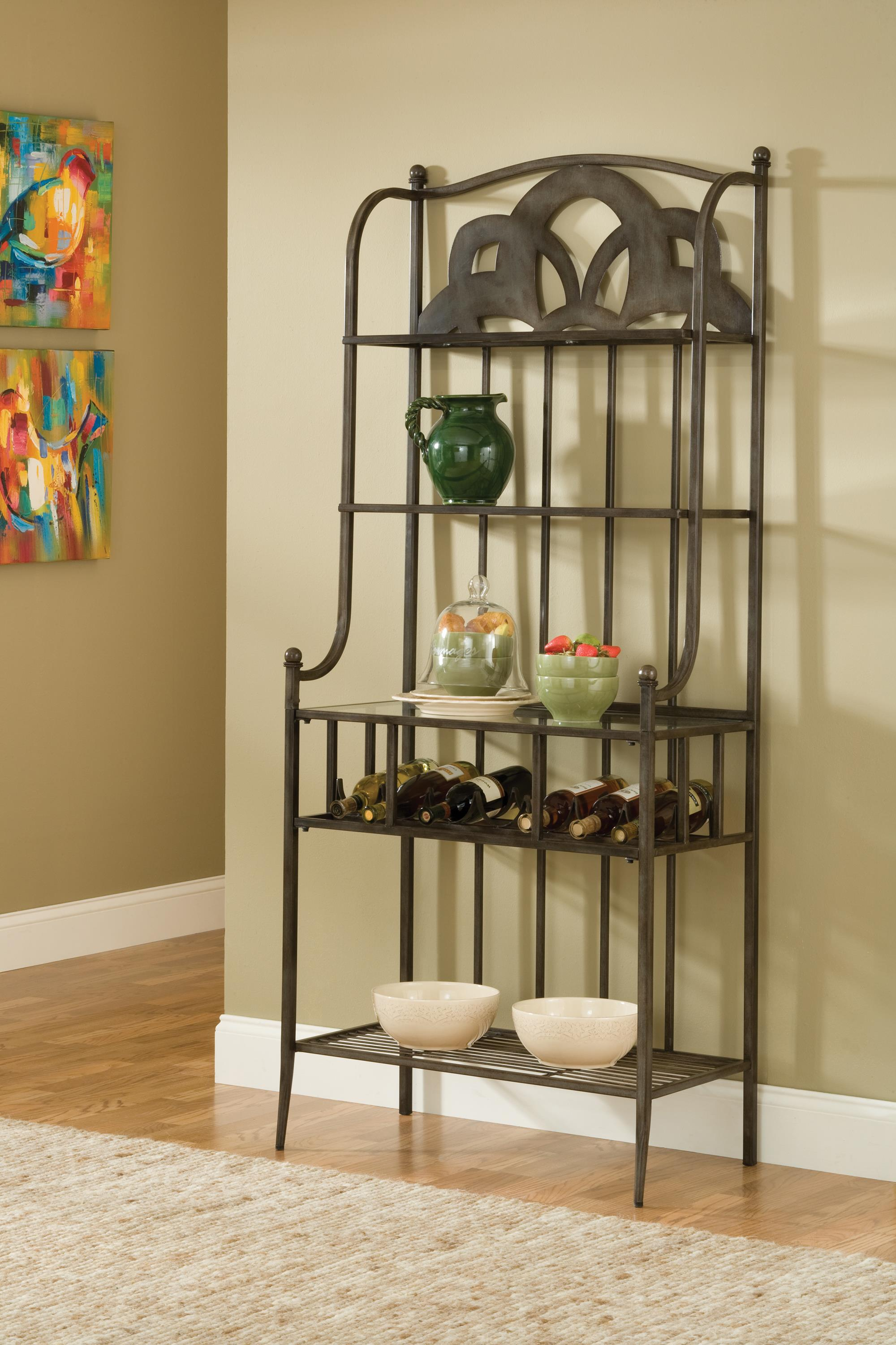 Hillsdale Marsala Baker's Rack (Small Center Design) - Item Number: 5435-850