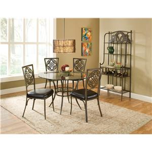 Morris Home Furnishings Marsala 5 PC Dining Set
