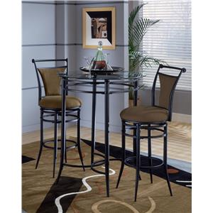 Morris Home Furnishings Mix N Match Cierra 3-Piece Bistro Set - Bear