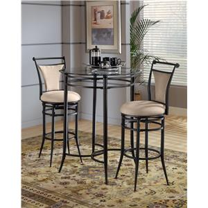 Hillsdale Mix N Match Cierra 3-Piece Bistro Set - Fawn