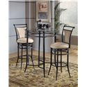 Hillsdale Mix N Match Cierra 3-Piece Bistro Set - Fawn - Item Number: 4596PTBS2FW