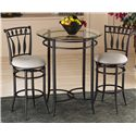 Hillsdale Mix N Match Hudson 3-Piece Bistro Set - Item Number: 4596PTBS2HD