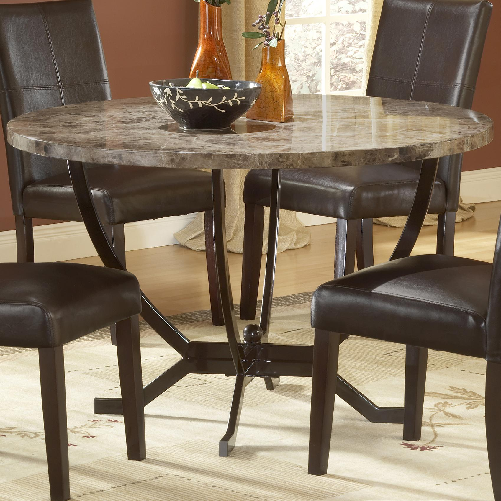Hillsdale Monaco Round Dining Table - Item Number: 4142DTB