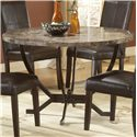 Morris Home Furnishings Monaco Round Dining Table - Item Number: 4142DTB
