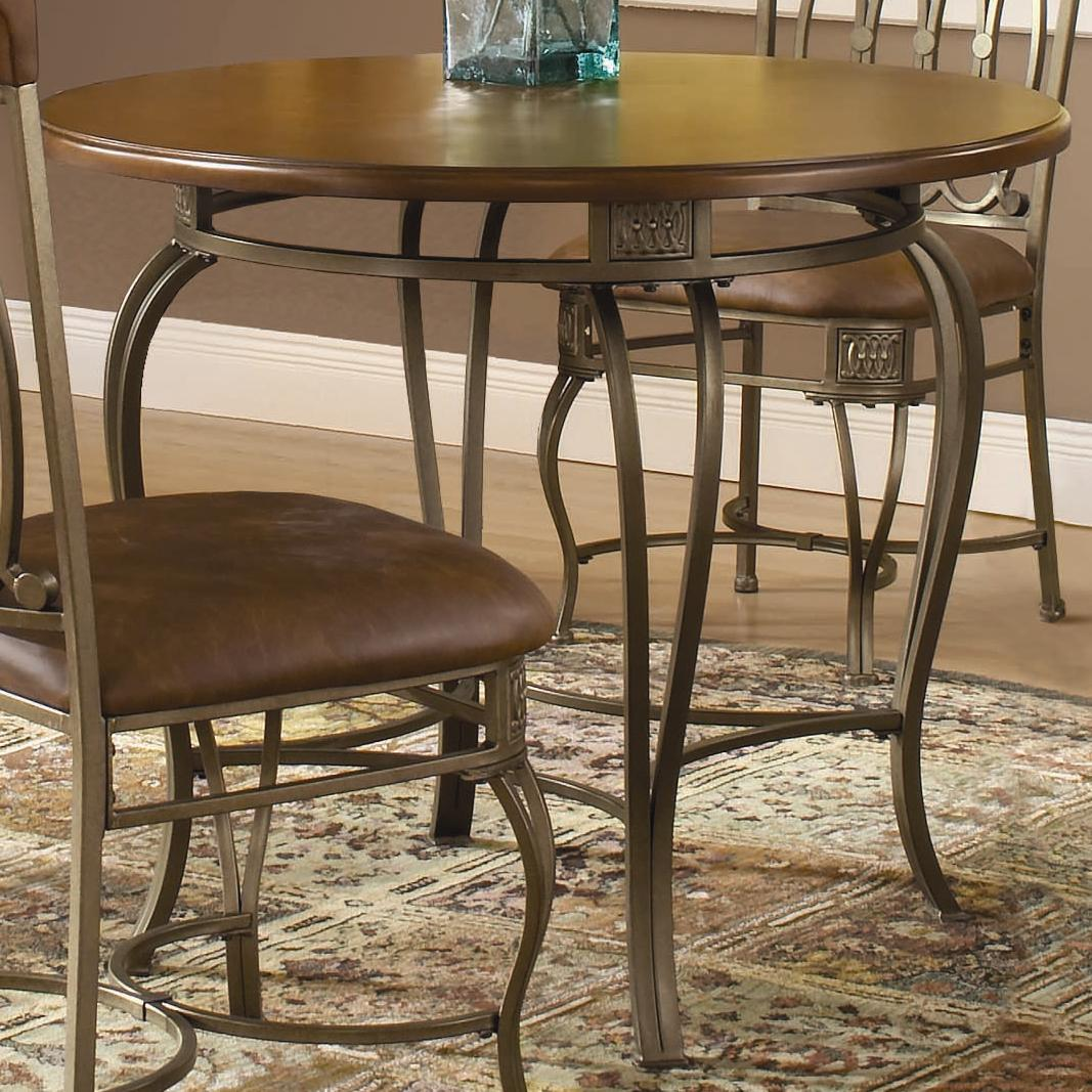 """Hillsdale Montello 36"""" Round Dining Table - Item Number: 41541DTB36"""