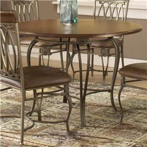 "Hillsdale Montello 45"" Round Dining Table"