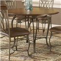 "Hillsdale Montello 45"" Round Dining Table - Item Number: 41541DTB45"