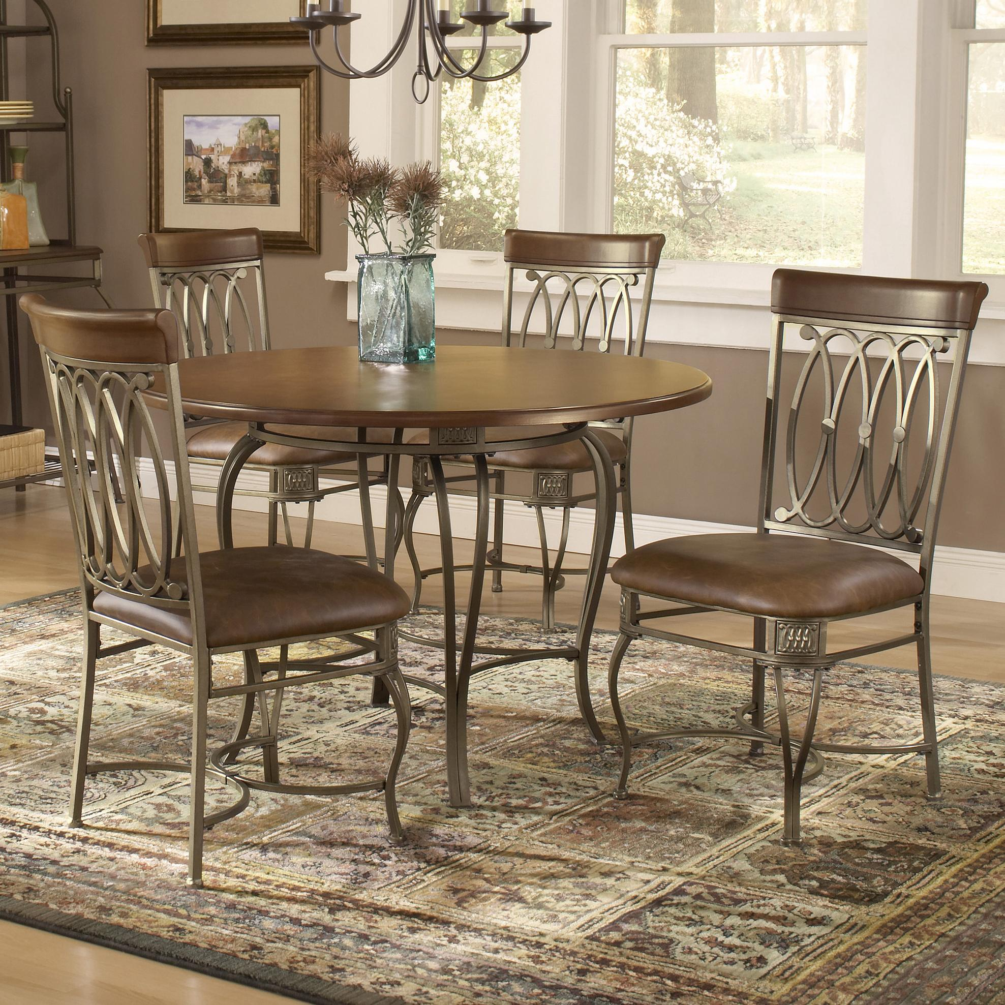 Hillsdale Montello Five Piece Dining Set - Item Number: 41541DTBC45